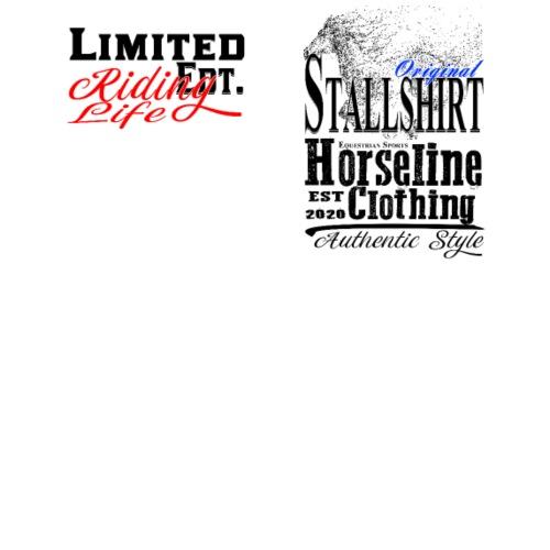 Limited Edition Stallshirt Pferde Reiten - Männer Premium T-Shirt