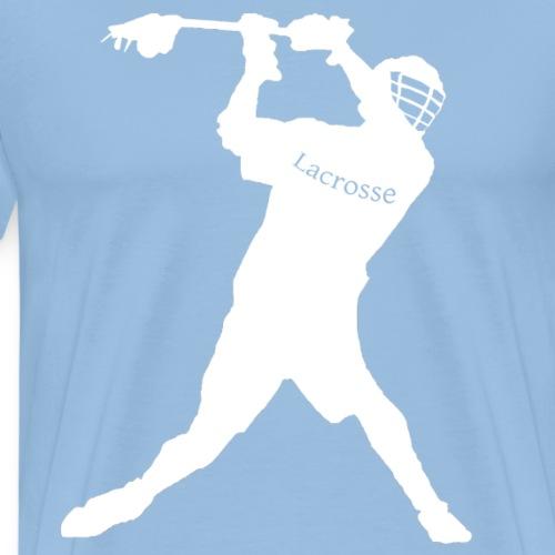 Lacrosse shooting Shirt - Männer Premium T-Shirt