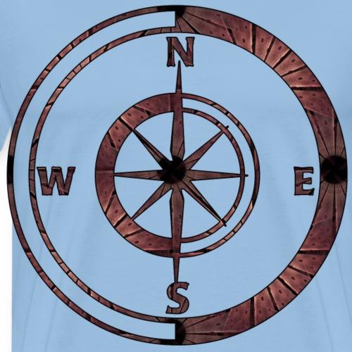 Kompas - Männer Premium T-Shirt