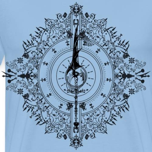 Dawn - Kingdom Hearts - Negro - Camiseta premium hombre
