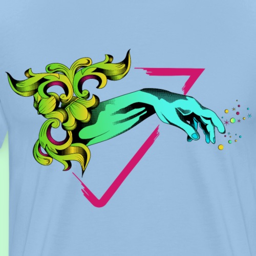 Mano de adán 2 - Camiseta premium hombre