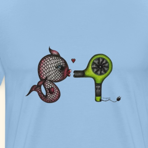 fish in love - Männer Premium T-Shirt
