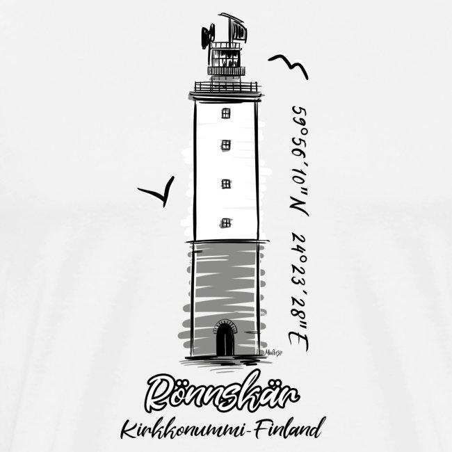 RÖNNSKÄR MAJAKKA - Majakkatuotteet, T-paidat ym.