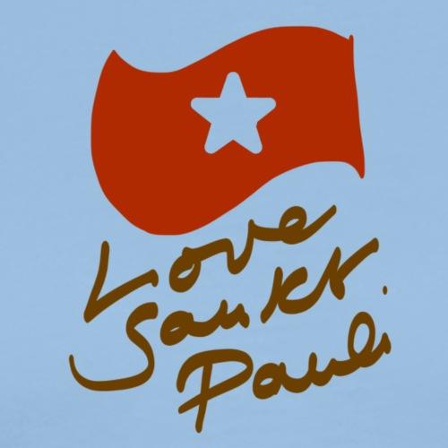 Love Sankt Pauli 2018 - Männer Premium T-Shirt
