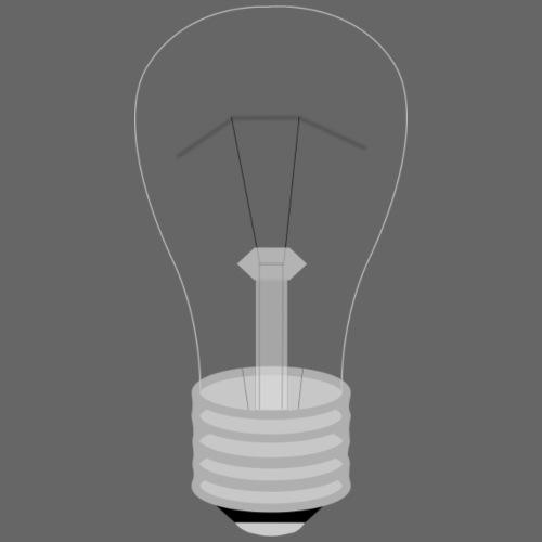 light bulb - Men's Premium T-Shirt