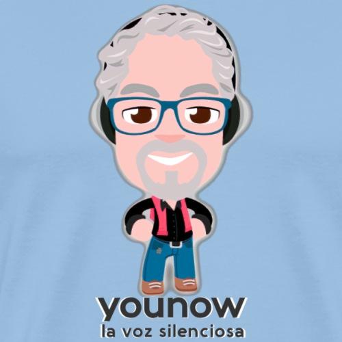 Younow - La voz silenciosa - Camiseta premium hombre