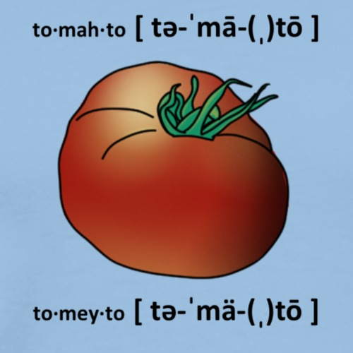Same difference Tomato - Männer Premium T-Shirt