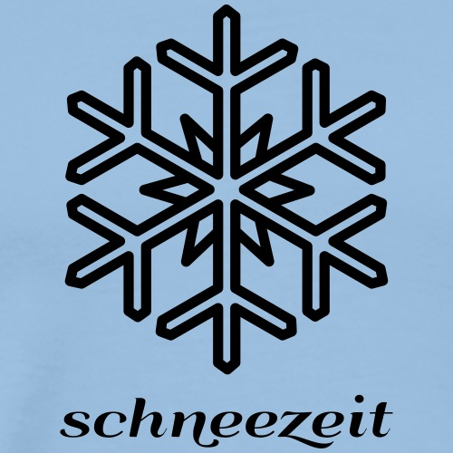 snow time logo 8SZ01 - Men's Premium T-Shirt