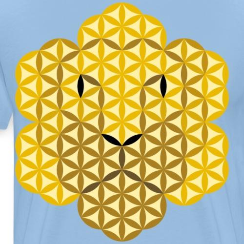 The Lion Of Life - Alpha Male, Crown 02 - Men's Premium T-Shirt