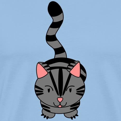 Miau Katze - Männer Premium T-Shirt