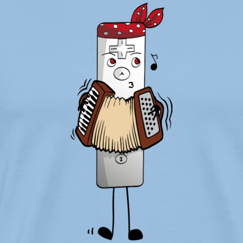 Pirate Wmanette - T-shirt Premium Homme