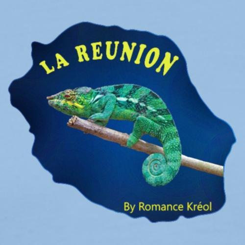 carte Margouillat Réunion - T-shirt Premium Homme