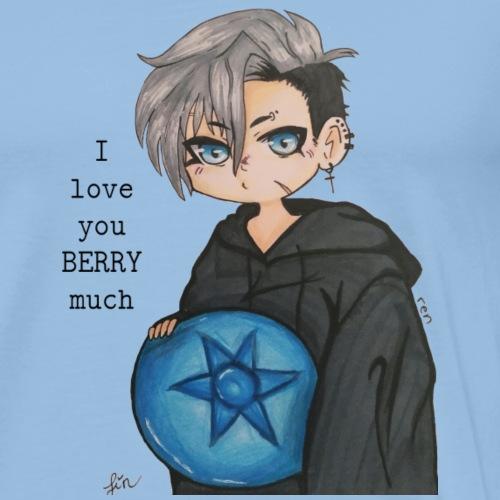 I love you BERRY much - Männer Premium T-Shirt