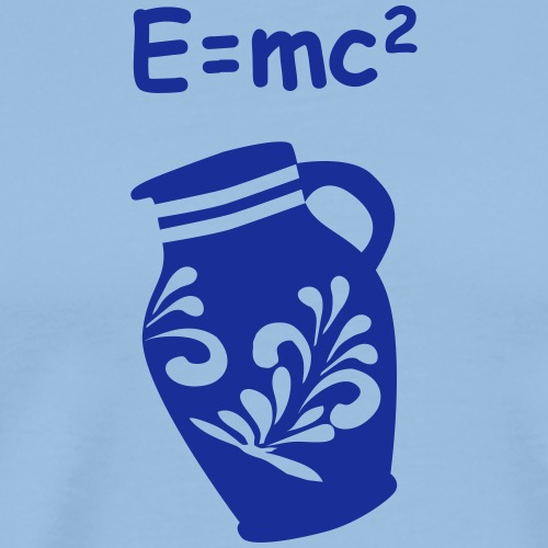 Bembel E=mc2 Relativitätstheorie - Männer Premium T-Shirt