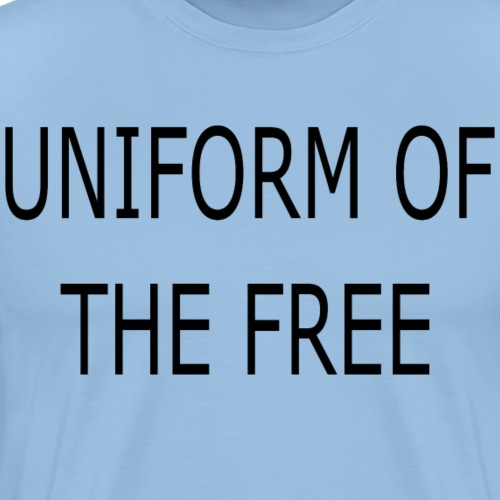Bestseller Uniform der Freien - Männer Premium T-Shirt