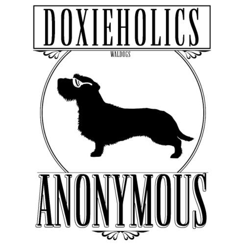 Doxieholics WH II - Miesten premium t-paita