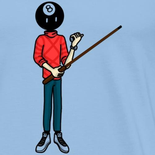 billar - Camiseta premium hombre