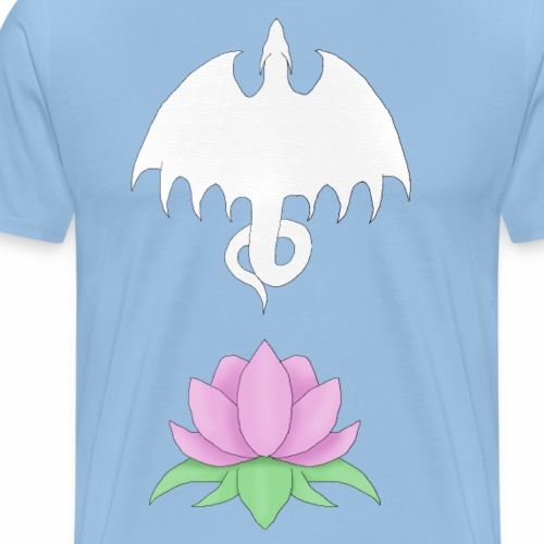 Dragon Lotus - Men's Premium T-Shirt