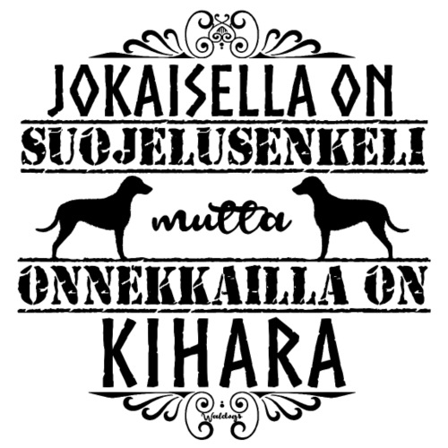 Kihara Enkeli II - Miesten premium t-paita