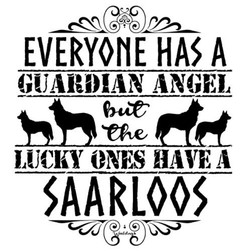 Saarloos Angel b - Miesten premium t-paita