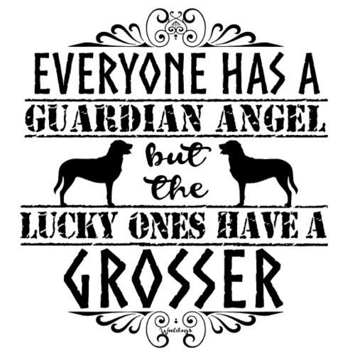 Grosser Angel B - Miesten premium t-paita