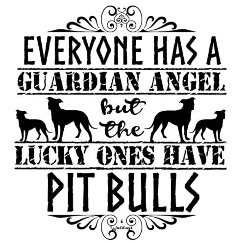 Pit Bull Angels II - Miesten premium t-paita
