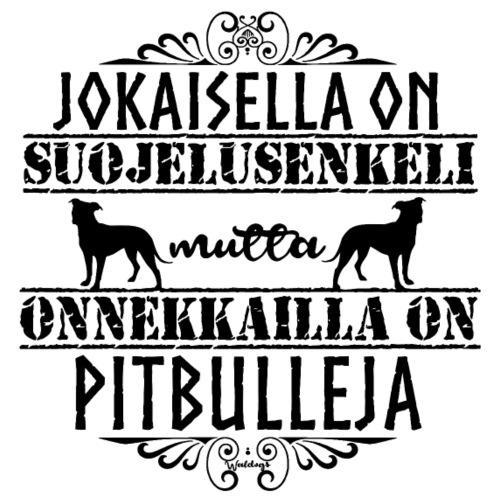 Pitbull Enkeli II - Miesten premium t-paita