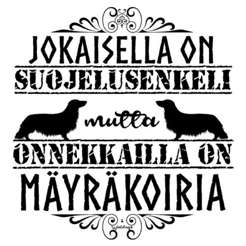 Mäyräkoira PK Enkeli - Miesten premium t-paita