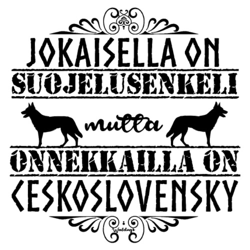 Ceskoslovensky Enkeli II - Miesten premium t-paita