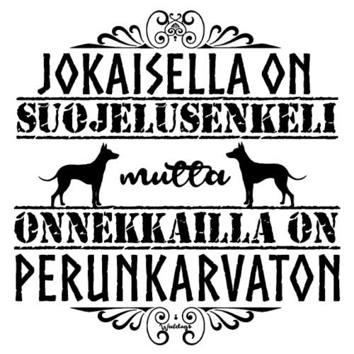 Perunkarvaton Enkeli II - Miesten premium t-paita