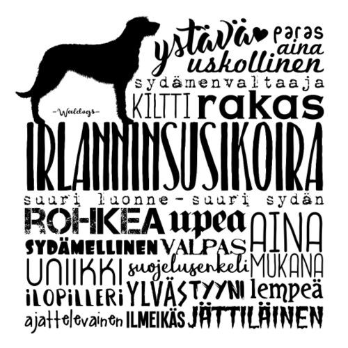 Irlanninsusikoira Sanat M - Miesten premium t-paita