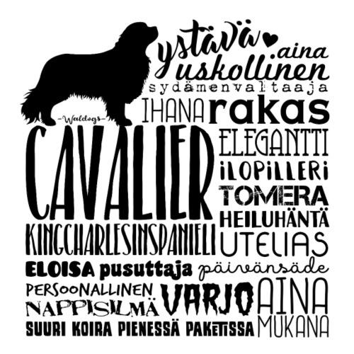 Cavalier Sanat M - Miesten premium t-paita