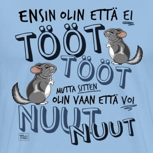 Voi Nuut Nuut III - Miesten premium t-paita