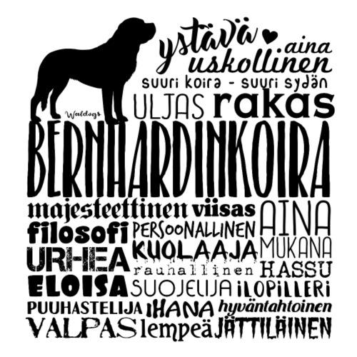 Bernhardin Sanat M LK - Miesten premium t-paita