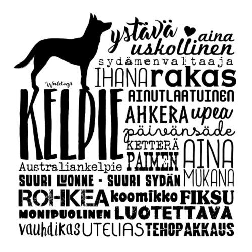 Kelpie Sanat M - Miesten premium t-paita