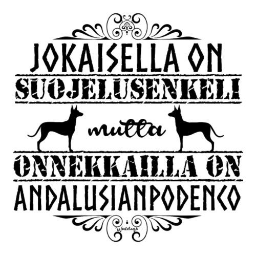Andalusian Enkeli M - Miesten premium t-paita