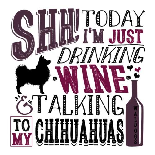 SHH Chihu Wine 006 - Miesten premium t-paita