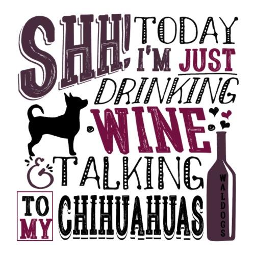 SHH Chihu Wine 007 - Miesten premium t-paita