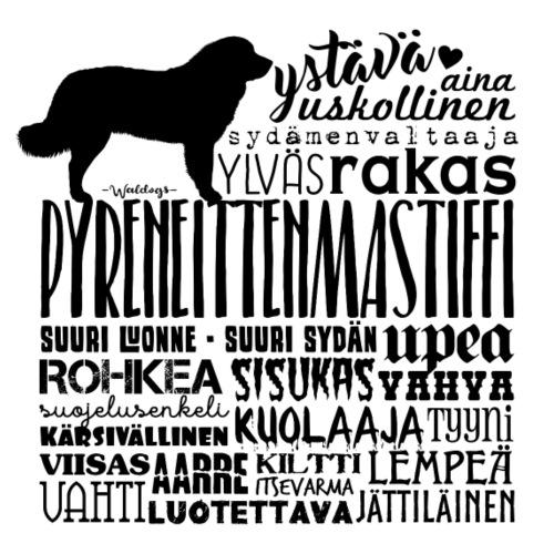 Pystiffi Sanat M - Miesten premium t-paita