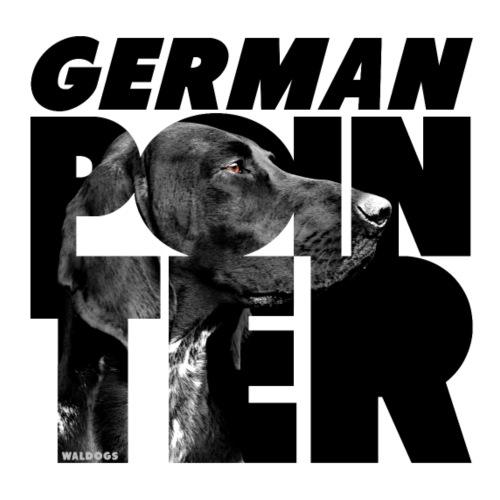 German Pointer II - Miesten premium t-paita