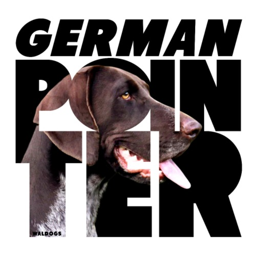 German Pointer V - Miesten premium t-paita