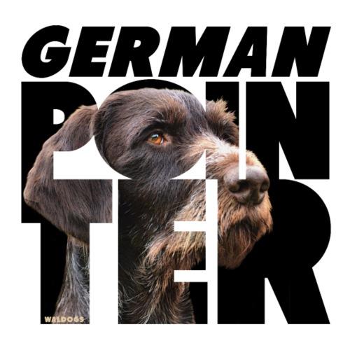 German Pointer IX - Miesten premium t-paita