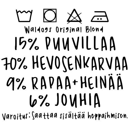 Heppa Ihmisen Paita - Miesten premium t-paita
