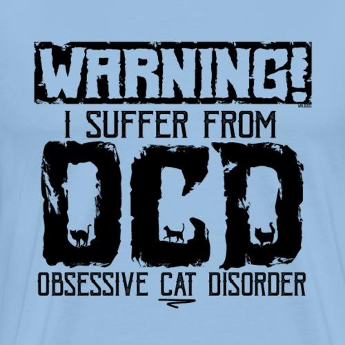 OCD Cat Disorder II - Miesten premium t-paita