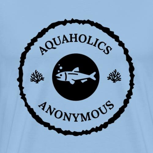 Aquaholics Anonymous II - Miesten premium t-paita