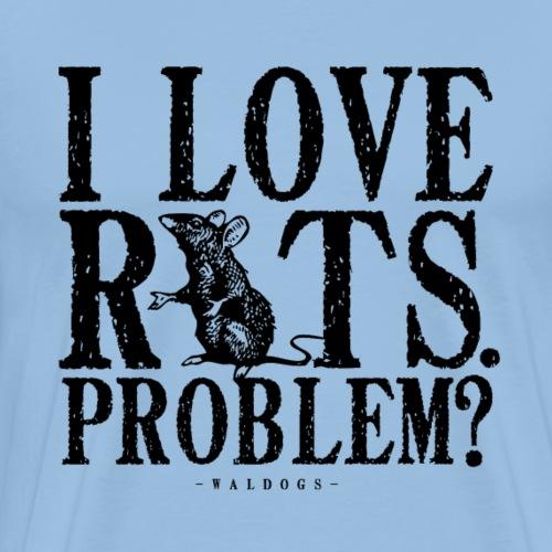 Rats Problem 7 - Miesten premium t-paita