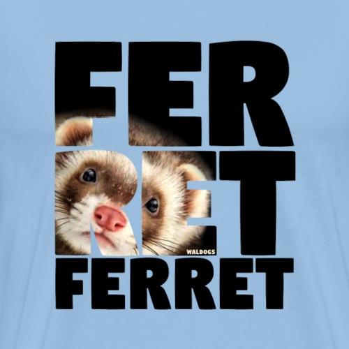 NASSU Ferret B - Miesten premium t-paita
