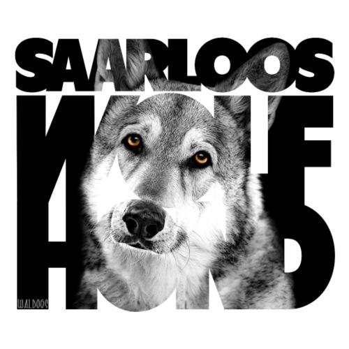 Saarloos Wolfhond II - Miesten premium t-paita
