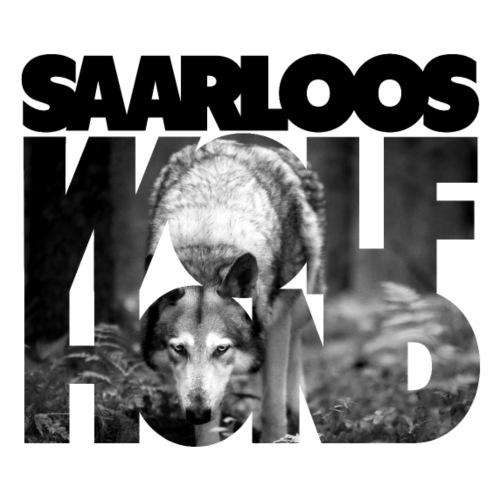 Saarloos Wolfhond III - Miesten premium t-paita