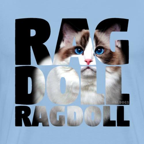 Ragdoll II - Miesten premium t-paita